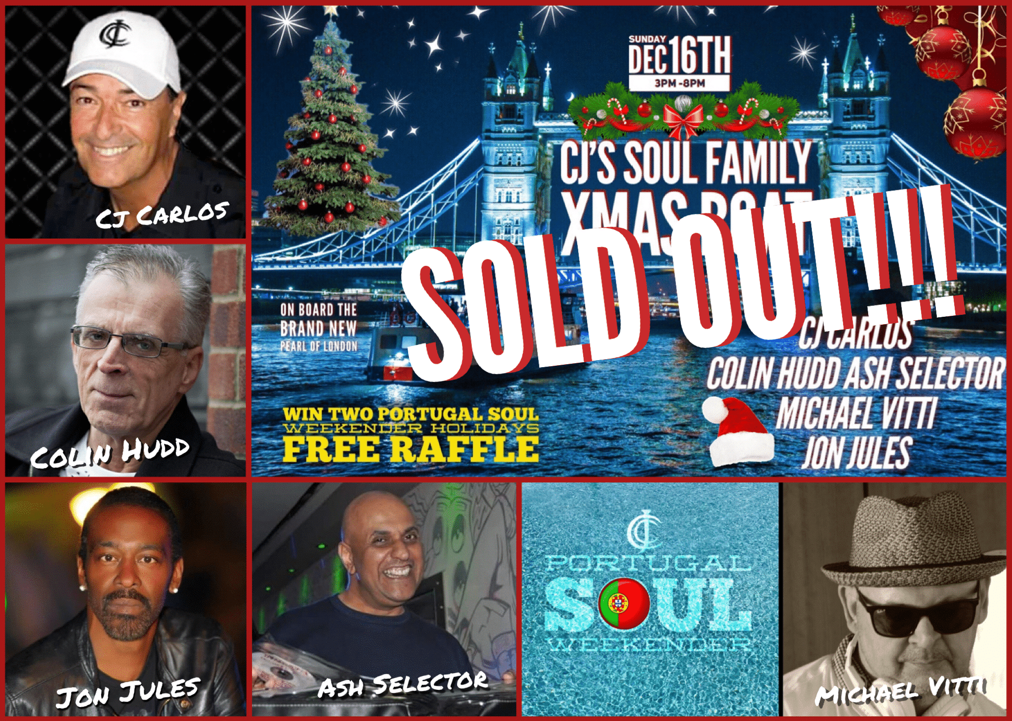 XMAS SOLD OUT